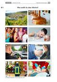 Chemie_neu, Sekundarstufe II, Allgemeine Chemie, Quantifizierung von Mengen, Alkohole, Stoffmenge, Konzentration, Anteil, Äquivalent, Ethanol, Gärung, Bierherstellung, Promille, Konsum, Rauschbrille, Wein