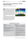 Religion-Ethik_neu, Sekundarstufe I, Wir in der Welt, Natur und Umwelt, Umweltschutz: Bewahrung der Welt, Klimawandel, Umweltschutz, Klimakrise