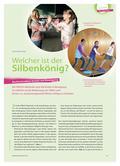 Sport_neu, Primarstufe, Körperwahrnehmung und Bewegungsfähigkeit, Silben, Spiel, Bewegung, Körper, Wahrnehmung