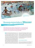 Sport_neu, Primarstufe, Sich im Wasser bewegen/ Schwimmen, Grundlagen, Fachdidaktische Grundlagen, Verhaltensweisen im Schwimmbad, Bewegungserlebnis, Schwimmunterricht, Wasser, Technik, Gleichgewicht, Gefühl, Lernen, Können
