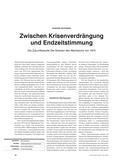 Geschichte_neu, Sekundarstufe II, Friedenspolitik, Gewaltfreie Lösungsstrategien, Politik der Entspannung, Zukunftsstudie, Die Grenzen des Wachstums, 1972