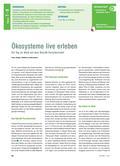 Biologie_neu, Sekundarstufe I, Ökosysteme, Der Wald, Ökosystem, Forschermobil, Koexistenz, Arten, Lebensraum, Untersuchung