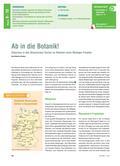 Biologie_neu, Sekundarstufe I, Ökosysteme, Der Wald, Ökosystem, Wald, Ökologie, Projekt, Exkursion, Garten, Pflanzen, Standortfaktoren