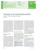 Biologie_neu, Sekundarstufe I, Genetik, Gruppenpuzzle, Klone, IVF, PID, DNA, Grundprinzipien, Reproduktionstechniken, Medizin
