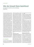 Biologie_neu, Sekundarstufe I, Genetik, Methylierung, Bisphenol, Pupertät, BMI, DNA, Transkription, Cytosin