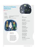 Englisch_neu, Primarstufe, Mündliche Produktion und Rezeption, Lesen und Literatur, Interkulturelle Kompetenzen und Landeskunde, Rezeption mündlicher Texte, Texte, Soziokulturelles Orientierungswissen, Hör-/Hörsehtexte verstehen, Literatur im Medienverbund, Feste und Bräuche, Reime, Lieder, Raps, Hörmedien, Fingerplay, The Ghost, Rhyme, Black and yellow, Pumpkin time, I am a pumpkin, Five little pumpkins, Tongue twister, Two witches, Trick or treat