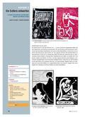 Kunst_neu, Sekundarstufe I, Flächiges Gestalten, Collagieren, Drucken, Collagieren mit Buchstaben und Wörtern, Techniken, Hochdruck, Gestaltung, Buchdruck, Buch, Hochdruck, Technik, Vervielfältigung, Styrodur, Exlibris