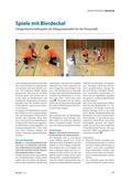 Sport_neu, Primarstufe, Spiele und Spielformen, Mannschaftsspiele, Spiel, Bierdeckel, Mannschaftsspiel, Mannschaft, Gruppen, Team, Wettkampf