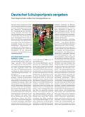 Sport_neu, Sekundarstufe I, Sekundarstufe II, Laufen, Springen, Werfen/ Leichtathletik, Wettbewerb, Schulsportpreis, Sportfest, Bericht, Sieger, Werttkampf, Team