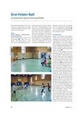 Sport_neu, Sekundarstufe I, Sekundarstufe II, Spielen, Spielen, Ball, 3-Felder-Ball, Spielverlauf, Variationen, Dynamik