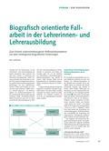 Sport_neu, Sekundarstufe I, Sekundarstufe II, Spielen, Normen, Fakten, Fallarbeit, Biografie, Reflexion, Probleme