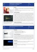 Physik_neu, Sekundarstufe I, Sekundarstufe II, Optik, Akustik, Licht und seine Eigenschaften, Wellenförmige Ausbreitung von Licht, Eigenschaften von Schallwellen, Bau- und Raumakustik, Frequenz und Wellenlänge, Amplitude, Wellenlänge, Frequenz, Echo und Hall, Schalldämmung, LED, Winkelscheibe, Spektralbrille, Beugungsgitter, Smartphone, App, Oszilloskop