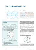 Mathematik_neu, Primarstufe, Größen und Messen, Zeit, Standardeinheiten und Repräsentanten, Zeitpunkt, Zeitdauer, Uhr, Uhrzeiten ablesen, Dezimalzeit, Minutenzeiger, Stundenzeiger, Ziffernblatt
