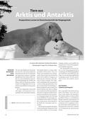 Tiere aus Arktis und Antarktis - Kooperatives Lernen im Deutschunterricht der Eingangsstufe