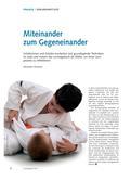 Sport_neu, Sekundarstufe I, Raufen, Ringen und Kämpfen, Judo, Miteinander, Techniken, Lerntagebuch, Bewegungsexploration, Fixieren, Befreien