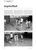 Sport_neu, Sekundarstufe I, Sekundarstufe II, Spielen, Spielformen, Zusammenspiel in Gruppen, Treibballspiele, Alternative Spielformen, Prellball, Kegeltreffball, Keule, Völkerball, Reifen, Außenspieler, Innenspieler