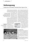 Sport_neu, Primarstufe, Körperwahrnehmung und Bewegungsfähigkeit, Darstellen und Gestalten, Koordinative Fähigkeiten, Rhythmusfähigkeit, Siebensprung, Tanz, Volkstanz, Choreografie, Kreistanz