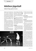 Sport_neu, Sekundarstufe I, Sekundarstufe II, Spielen, Zusammenspiel in Gruppen, Jägerball, Hütchen, Schaumstoffball, Mannschaften, Hasen