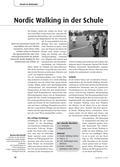 Sport_neu, Primarstufe, Sekundarstufe I, Körperwahrnehmung und Bewegungsfähigkeit, Laufen, Springen, Werfen/ Leichtathletik, Rückenschule für Kinder, Laufen, Rückenfreundliches Alltagsverhalten, Ausdauerndes Laufen, Stehen-Gehen-Laufen, Nordic Walking, Ausdauerschulung, Stöcke, Parcours, Koordination, Technik