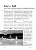 Sport_neu, Sekundarstufe I, Sekundarstufe II, Spielen, Volley spielen, Rückschlagspiele, Rotierende Mannschaften, Crossover, Unforced Errors