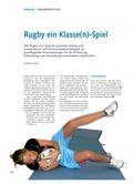 Sport_neu, Sekundarstufe I, Spielen, Mit verschiedenen Geräten spielen, Zusammenspiel in Gruppen, Bälle, Bänder-Rugby, Touch-Rugby