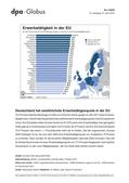 Politik_neu, Sekundarstufe II, Sekundarstufe I, Sozialstruktur und sozialer Wandel, Politische Ordnung, Wirtschaftsordnung, Europäische Union, Wirtschaft und Arbeitswelt, Statistiken, Politische Ordnung auf Europaebene, Wirtschaftspolitische Herausforderung, Datenauswertung, Arbeitsmarktsituation, Graphiken, Arbeitsmarkt, Erwerbstätigkeit, Arbeitslosenquote, Arbeiten in der EU, Länder der EU, Erwerbstätigkeitsquote