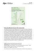 Erdkunde_neu, Sekundarstufe II, Wirtschaftsgeographie, Wirtschaftssektoren: Primärer Sektor, Entwicklungen, Ökologische Landwirtschaft, Biomarkt, Bioprodukte