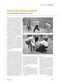 Sport_neu, Sekundarstufe II, Sekundarstufe I, Spielen, Zusammenspiel in Gruppen, Mit verschiedenen Geräten spielen, Alternative Spielformen, Bälle, Rugby-Handball, Angriffsblöcke