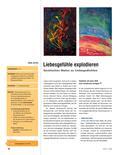 Kunst_neu, Sekundarstufe I, Flächiges Gestalten, Zeichnen, Malen, Expressionismus, Gedicht, Lyrik, Dispersionsfarbe, Gefühle, Ausdruck, Poesie, Grafisch