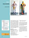 Kunst_neu, Sekundarstufe I, Flächiges Gestalten, Malen, Zeichnen, Farbenlehre, Farbe als Gestaltungsmittel, Formfüllung, Ausdrucksqualität und Symbolik der Farbe, Muster, Muster, Kleidung, Design, Gestaltung, Overall, Farbe, Malen, Bemalen