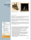 Kunst_neu, Sekundarstufe I, Kunstbegegnung und -betrachtung, Bildanalyse und -interpretation, Analyse gestalterischer Mittel, Vergleich, Verfahren, Albrecht Dürer, Tier, Joseph Beuys, Hase, Form, Skizze