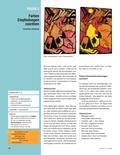 Kunst_neu, Sekundarstufe I, Flächiges Gestalten, Malen, Darstellung der sichtbaren Wirklichkeit, Farbkontraste, Landschaft, Warm-Kalt-Kontrast, Farbe, Sinneswahrnehmung, Ausdruck, Empfinden, Farbkreis, Synästhesie, Sinn, Erich Heckel, Itten