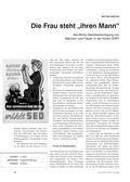 Geschichte_neu, Sekundarstufe I, Zeitgeschichte, Nachkriegszeit, Teilung Deutschlands 1949-1990, Entwicklung der BRD und der DDR, Plakate, DDR, Emanzipation, Berufsleben, Gleichberechtigung, Rollenspiel