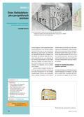 Kunst_neu, Sekundarstufe I, Flächiges Gestalten, Darstellung von Räumlichkeit, Zeichnen, Perspektiven, Fluchtpunktperspektive, Gebäude, Zweifluchtpunktperspektive, Komplex, Archtiktur, Häuser, Konstruieren