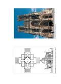Kunst_neu, Sekundarstufe I, Kunstbegegnung und -betrachtung, Architekturanalyse und -interpretation, Zweidimensionale Darstellung von Architektur, Grundriss, Grundriss, Skizze, kirche, Gotik, Fassade, Epoche, Stil