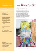 Kunst_neu, Primarstufe, Umwelterfahrung und -gestaltung/ Design, Flächiges Gestalten, Aktionsbetontes Gestalten, Kunstbegegnung und -betrachtung, Gestalterische Aktionen, Kunstrezeption und -verständnis, Requisiten und Bühnendekoration, Himmelblau, Kandinsky, Theaterstück, Stabfiguren, Fantasietier