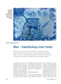 Kunst_neu, Primarstufe, Flächiges Gestalten, Malen, Farbwirkung, Kalte Farben, Blau, Fachdidaktik, Interpretation, Wirkung, Töne, Kalt, Einsatz