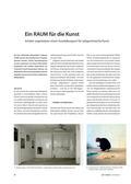 Kunst_neu, Sekundarstufe II, Kunstbegegnung und -betrachtung, Außerschulische Lernorte, Ausstellung, Museum, Raum, Ort, Galerie, Gestaltung