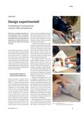 Kunst_neu, Sekundarstufe II, Kunstbegegnung und -betrachtung, Analyse und Interpretation von Architektur und Design, Design, Zufall, Prozess, Experiment, Gestaltung