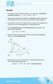 Mathematik_neu, Sekundarstufe II, Raum und Form, Gerade, Ebene, Parameterform, Ebenenform, Gegenseitige Lage, Gegenseitige Lage von Gerade und Ebene, Lage im Koordinatensystem, Identisch, Parallel, Schnittpunkte, Windschief, Koordinatenform, Schrägbild, Spurpunkte, Schnittgerade, Gerade liegt in Ebene, Stützvektor, Punktprobe, Vorgehensweise, Untersuchung
