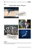 Deutsch_neu, Sekundarstufe I, Sprechen und Zuhören, Medien, Schreiben, Informieren, Medienkompetenz, Schreibverfahren, Informieren in Alltag, Medien und Unterricht, Nutzungskompetenz, Pragmatisches Schreiben, Gestaltungskompetenz, Kreatives Schreiben, Beschreiben, Hurrikan, Tornado, Tsunami, Drehbuch schreiben