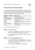 Englisch_neu, Sekundarstufe II, Lesen und Literatur, Schreiben, Verfügung über sprachliche Mittel, Texte, Erschließung von Texten, Schreibverfahren, Wortschatz und Idiomatik, Gebrauchstexte, Strategien zur Texterschließung, Pragmatisches Schreiben, Wortschatz, Darstellende und argumentative Sachtexte, Erörterung/ Persönliche Stellungnahme, Funktions- und Interpretationswortschatz, Written discussion, Introduction, Advantages and Disadvantages, Conclusion