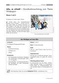 Sport_neu, Primarstufe, Körperwahrnehmung und Bewegungsfähigkeit, Wintersport, Spiele und Spielformen, Koordinative Fähigkeiten, Vielfältige Bewegungen auf Eis und Schnee, Gleichgewichtsfähigkeit, Gewöhnungsübungen, Spielformen, Schneeball, Balance, Parcours, Biathlon, Schlittenfahren