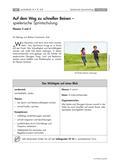 Sport_neu, Primarstufe, Laufen, Werfen, Springen/ Leichtathletik, Körperwahrnehmung und Bewegungsfähigkeit, Laufen, Koordinative Fähigkeiten, Schnell laufen, Laufen in spielerischen Formen, Körperwahrnehmung, Reaktionsfähigkeit, Lauferfahrung, Schrittlänge, Schrittfrequenz, Regelbewusstsein, Zeitungslauf, Würfellauf, Zahlenstaffel