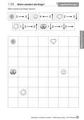 Mathematik_neu, Primarstufe, Raum und Form, Geometrische Muster, Verschieben, Lage, Beziehung, Motiv, Ausschnitt, Bild