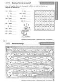 Mathematik_neu, Primarstufe, Zahlen und Operationen, Grundrechenarten, Rechenoperationen, Produktive Übungsformate, Zur Addition, Zur Subtraktion, Zur Multiplikation, Zur Division, mal, durch, geteilt, plus, minus, Lösung, Zahl