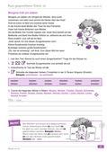 Deutsch_neu, Primarstufe, Sekundarstufe I, Richtig Schreiben, Sprache und Sprachgebrauch untersuchen, Nutzung von Arbeitstechniken, Sprachliche Strukturen und Begriffe auf der Wortebene, Grundlagen, Verwendung von Rechtschreibhilfen, Laut-Buchstaben-Zuordnung, Abschreibstrategien, Laut und Lautstruktur des Wortes, Rechtschreibstrategien, Prinzipien der Orthographie, Kennzeichnung der kurzen Vokale, Silbe/ Silbengelenk, kurz gesprochener Vokal, Zungenbrecher, Verben, Tunwörter, konjugieren