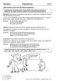 Deutsch_neu, Primarstufe, Sekundarstufe I, Sprache und Sprachgebrauch untersuchen, Sprachliche Strukturen und Begriffe auf der Satzebene, Sprachliche Strukturen und Begriffe auf der Wortebene, Wortarten, Der einfache Satz, Satzarten, Präposition, räumliche Beziehung, zeitliche Beziehung, ursächliche Beziehung, Präpositionen, Verhältniswörter, Wortlehre, Präpositionen und Fälle, Domino-Spiel zu Präpositionen