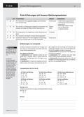 Mathematik_neu, Sekundarstufe I, Funktionen, Lösen von Gleichungen, Lösen linearer Gleichungssysteme, Abzählen, Gleichungssystem, Gleichung