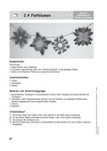 Kunst_neu, Primarstufe, Körperhaft-räumliches Gestalten, Blume, Farbe, Form, Schneiden, Falte, Glas, Schnitt